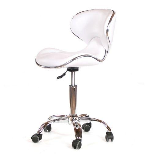 Rodeo Salon Chair White