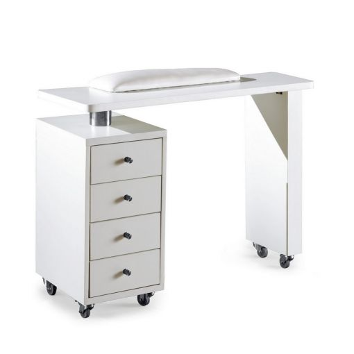 Rio Manicure Table White