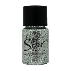Star Nails Star Nail Art Dust Silver 4G