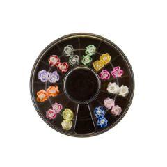 Star Nails Crystal Rose Wheel