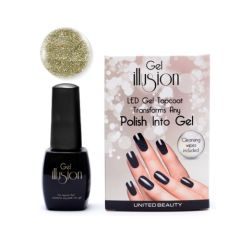 Gel Illusion Gold Glitter 14ml