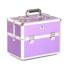 Urbanity Classic Beauty Case Purple Diamond