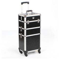 Urbanity Classic Trolley Black Crocodile