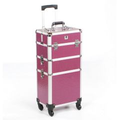Urbanity Classic Trolley Purple Crocodile