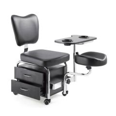 Classic Pedicure Chair Black