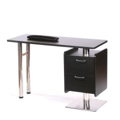 Chic Manicure Table Black