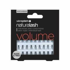 Salon System Individual Lashes Flare Duos and Trios Short and Medium Mixed Pack