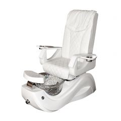 Pedicure Chair With Massage and Jacuzzi Foot Spa Stool Station by Salon Store