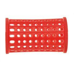Sibel Plastic Curl Needles 10 PCS Red