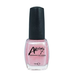 Attitude Nail Polish Pretty Pink 15ml