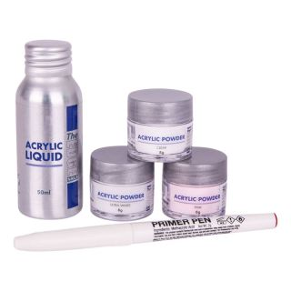 The Edge Acrylic Powder & Liquid Trial Pack
