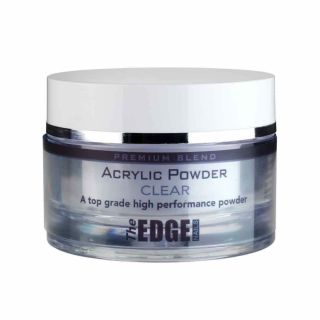 The Edge Premium Blend Acrylic Powder Clear 37G
