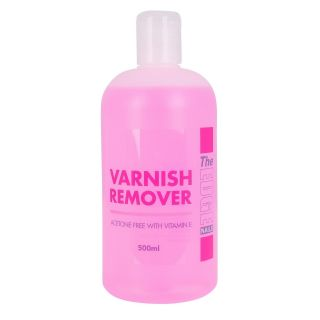 The Edge Varnish Remover 500Ml With Vitamin E