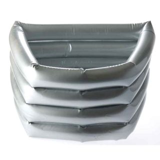 The Edge Silver Inflatable Pedibath