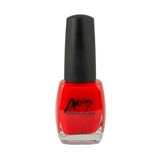 Attitude Nail Polish Red Hot 15ml