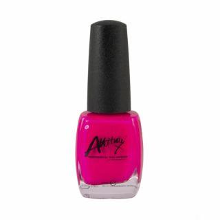 Attitude Nail  Polish Fluorescent Pink 15ml
