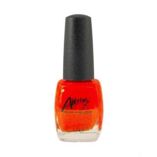 Attitude Nail  Polish Fluorescent Orange 15ml
