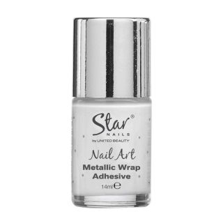 Star Nails Metallic Wrap Adhesive