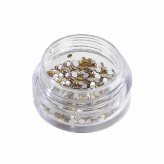 Star Nails Rhinestones Topaz (300 Pk)