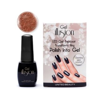 Gel Illusion Bronze Glitter 14ml