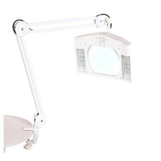 LED Magnifying Lamp White