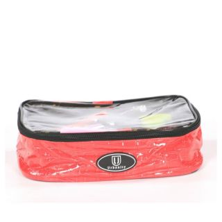 Urbanity Chic Cosmetic Bag Pink Crocodile