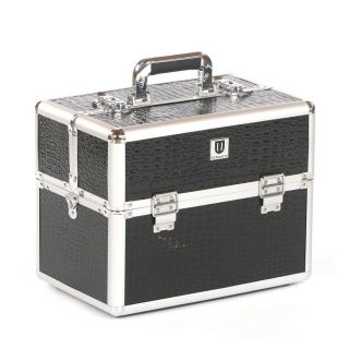 Urbanity Classic Beauty Case Black Crocodile