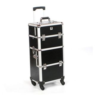 Urbanity Elite Trolley Black Crocodile