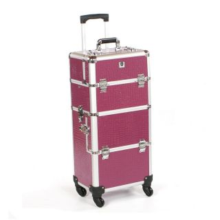 Urbanity Elite Trolley Purple Crocodile
