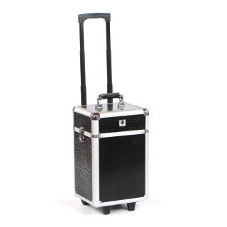 Urbanity Flexi Trolley Black Crocodile