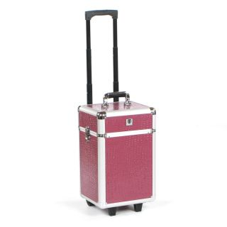 Urbanity Flexi Trolley Purple Crocodile