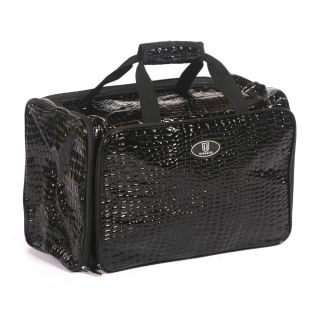 Urbanity Hairdressing Bag Black Crocodile