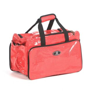 Urbanity Hairdressing Bag Pink Crocodile