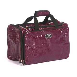 Urbanity Hairdressing Bag Purple Crocodile