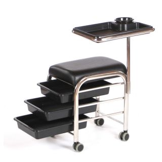 Lumi Manicure Trolley Black