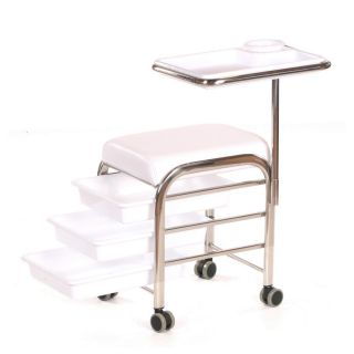 Lumi Manicure Trolley White