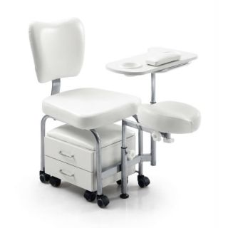 Classic Pedicure Chair White