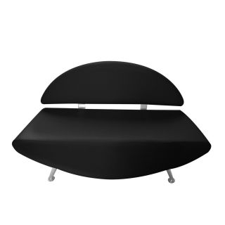 Elite Reception Couch Black