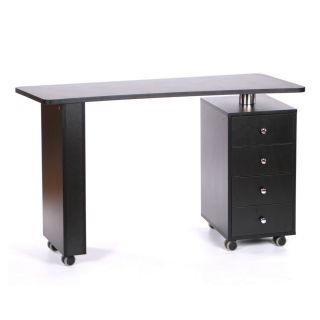 Rio Manicure Table Black