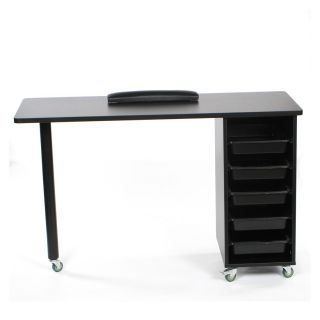 Metro Manicure Table Black