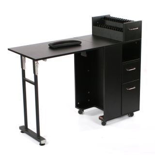 Complete Manicure Table Black