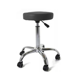 Classic Salon Stool Black