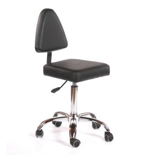 Milan Salon Chair Black
