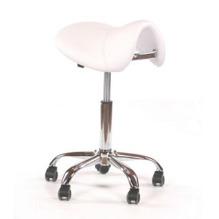 Saddle Stool White