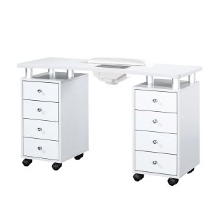 Astro Manicure Table With Extractor Fan White