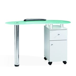 Olympia Manicure Table White
