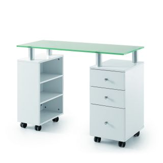 Vernon Manicure Table White