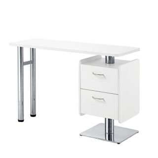Chic Manicure Table White