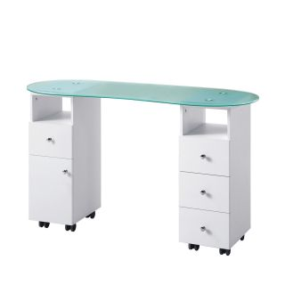 Brooklyn Manicure Table White