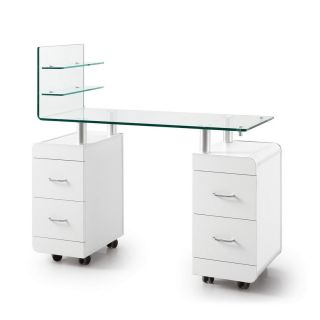 Nail Pro Manicure Table White